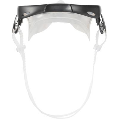 FMS 100 freediving snorkel fins mask kit for children blue black