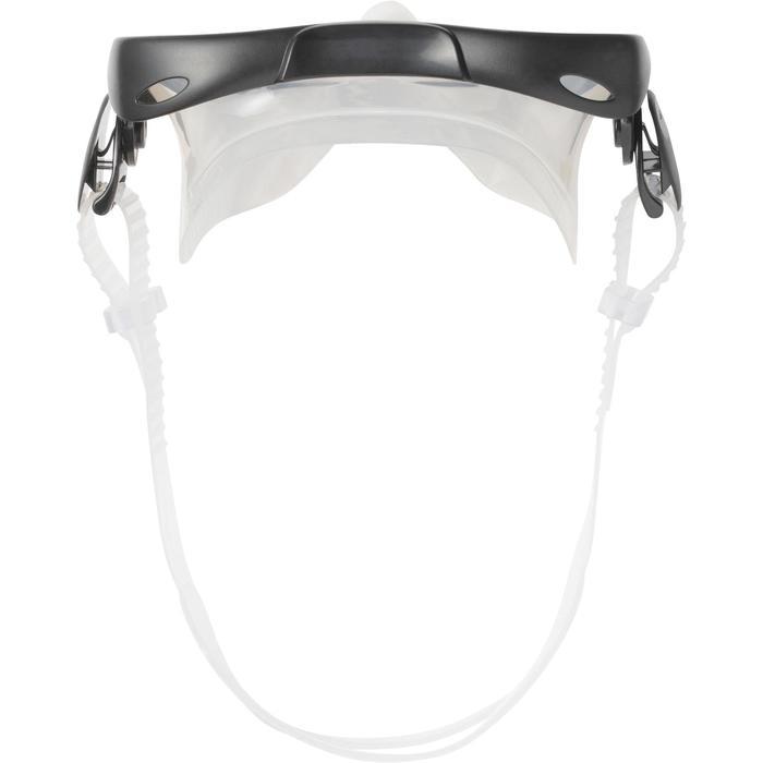 Set duikbril, snorkel en vinnen 100 voor kinderen blauw zwart