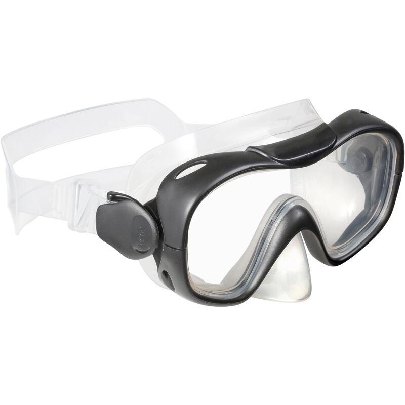 Adult Snorkeling Kit SNK 500 - Blue Black