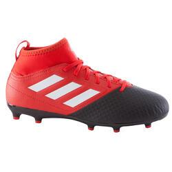 Voetbalschoenen Ace 17.3 FG voor kinderen rood/zwart
