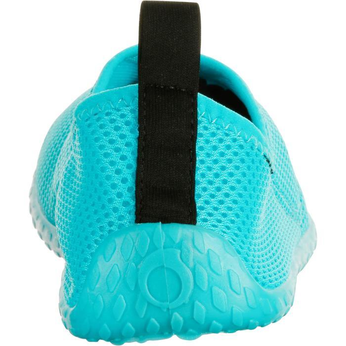 Chaussures aquatiques Aquashoes 100 turquoise