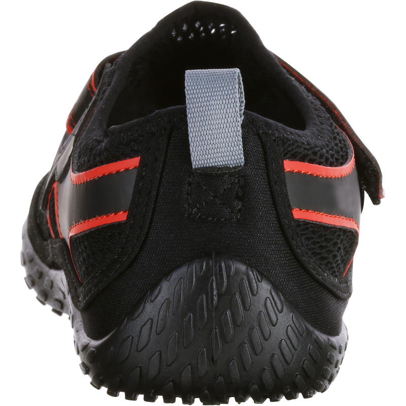 500 aquashoes black red