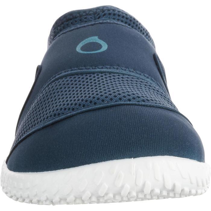 Chaussures aquatiques Aquashoes 100 noires turquoises - 1060951