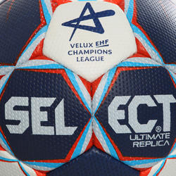 Handbal replica Ultimate Champions League maat 3 blauw wit rood - 1060968