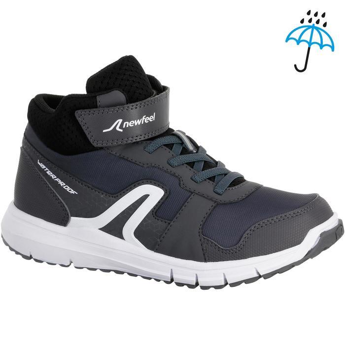 Chaussures marche sportive enfant Protect 580 gris / blanc