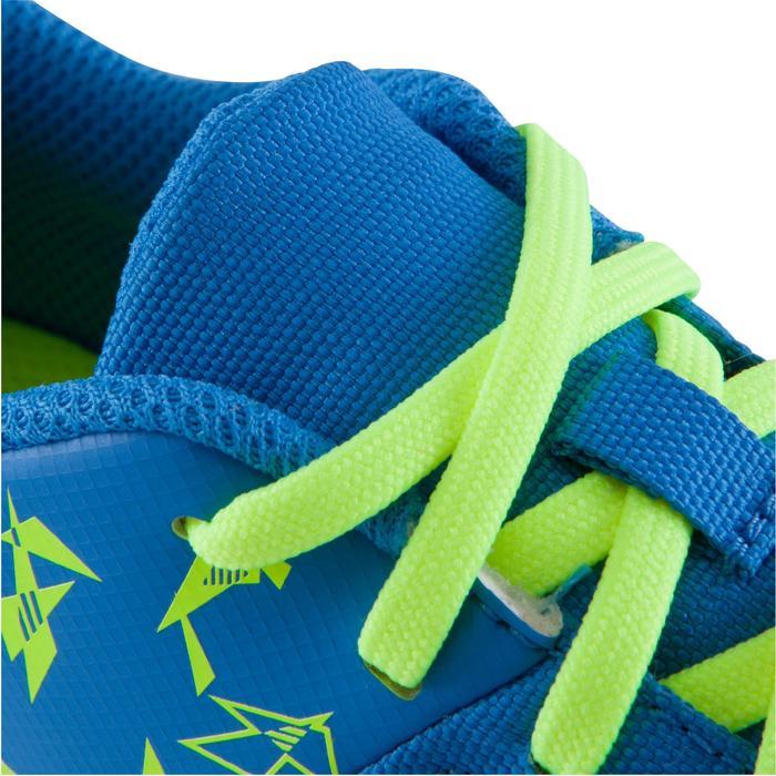 Chaussure de futsal enfant CLR 500 à scratch bleue - 1061010