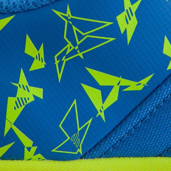 Chaussure de futsal enfant CLR 500 à scratch bleue - 1061011
