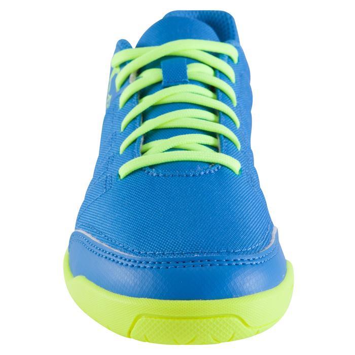 Chaussure de futsal enfant CLR 500 à scratch bleue - 1061012