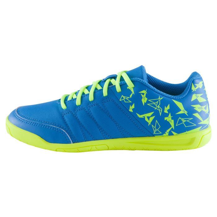 Chaussure de futsal enfant CLR 500 à scratch bleue - 1061014