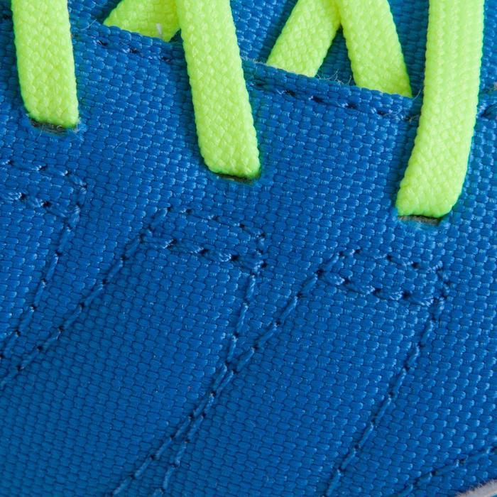 Chaussure de futsal enfant CLR 500 à scratch bleue - 1061015