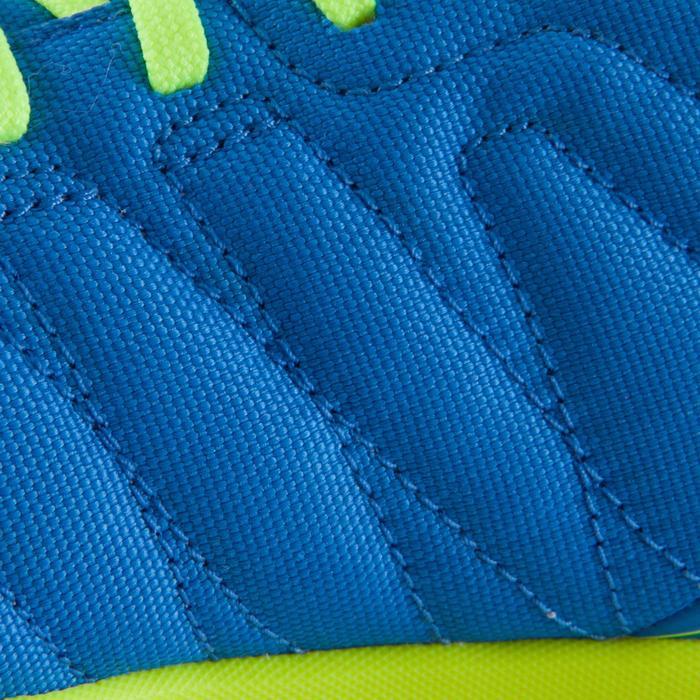 Chaussure de futsal enfant CLR 500 à scratch bleue - 1061017