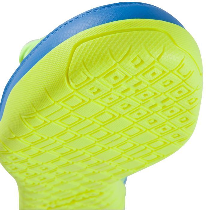 Chaussure de futsal enfant CLR 500 à scratch bleue - 1061018