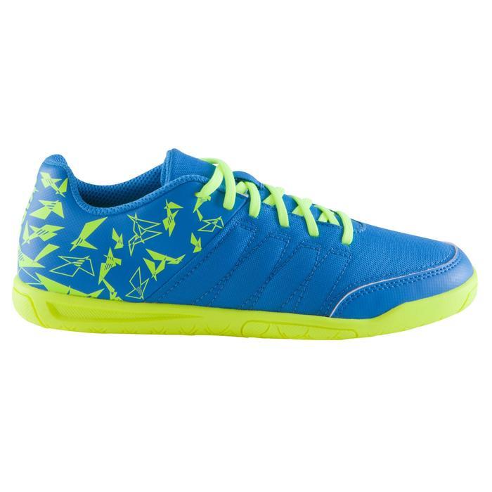 Chaussure de futsal enfant CLR 500 à scratch bleue - 1061019