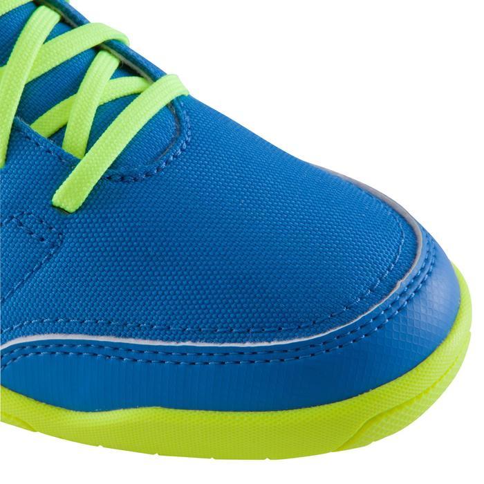 Chaussure de futsal enfant CLR 500 à scratch bleue - 1061020