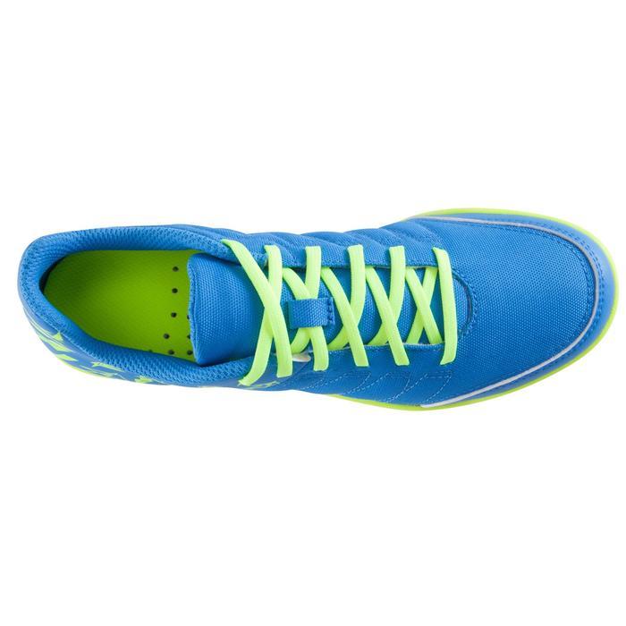 Chaussure de futsal enfant CLR 500 à scratch bleue - 1061021