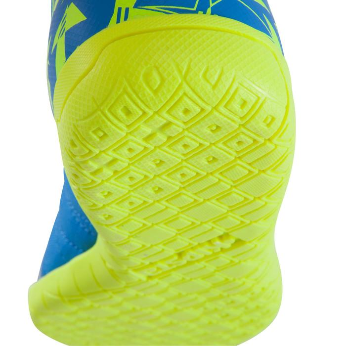 Chaussure de futsal enfant CLR 500 à scratch bleue - 1061022