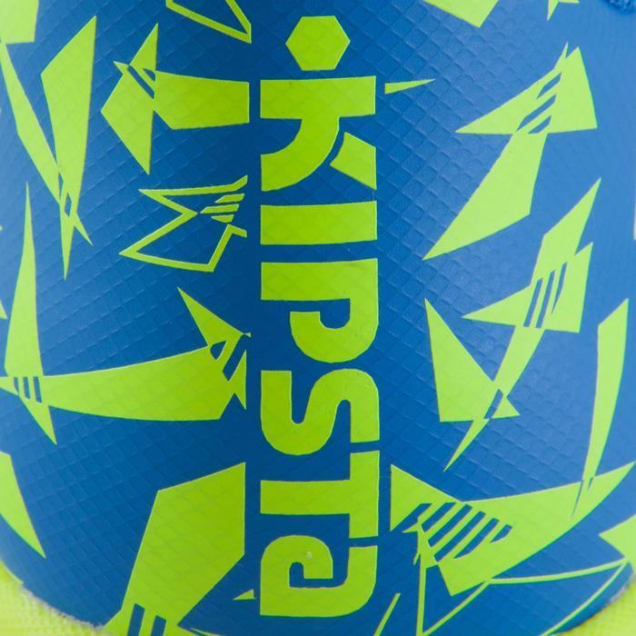 Chaussure de futsal enfant CLR 500 à scratch bleue - 1061023