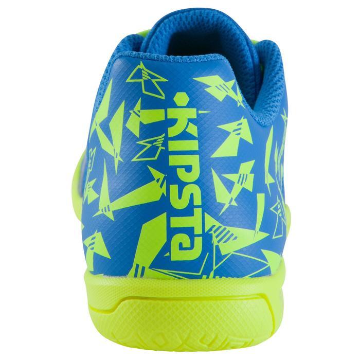 Chaussure de futsal enfant CLR 500 à scratch bleue - 1061024