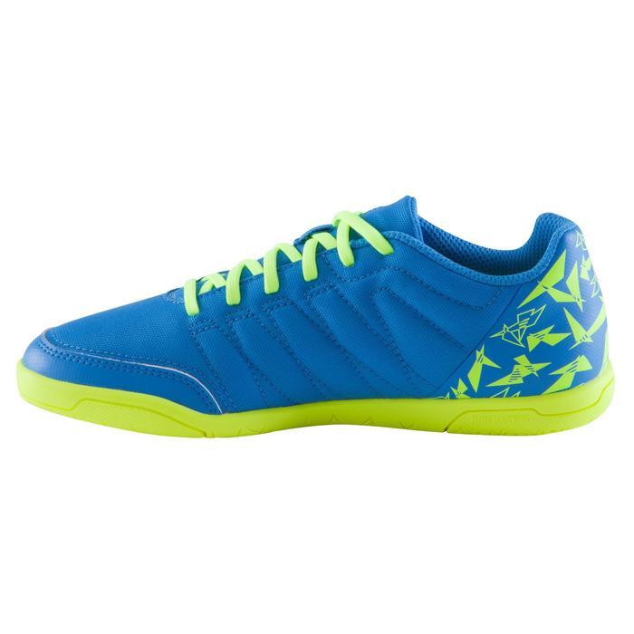 Chaussure de futsal enfant CLR 500 à scratch bleue - 1061025