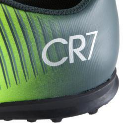 Voetbalschoenen Mercurial CR7 Vortex TF voor kinderen zwart - 1061071
