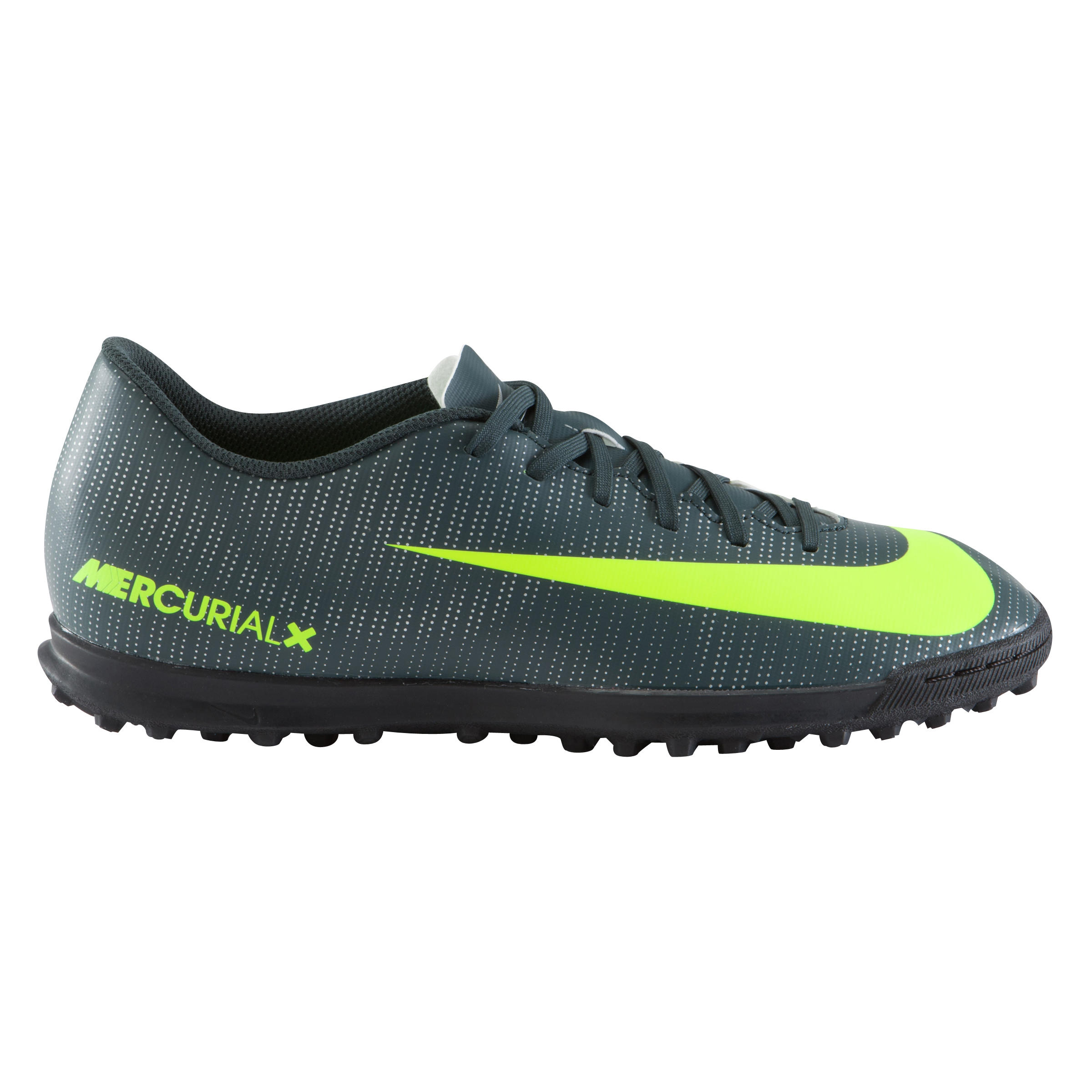 Nike Voetbalschoenen Mercurial CR7 Vortex TF voor kinderen zwart