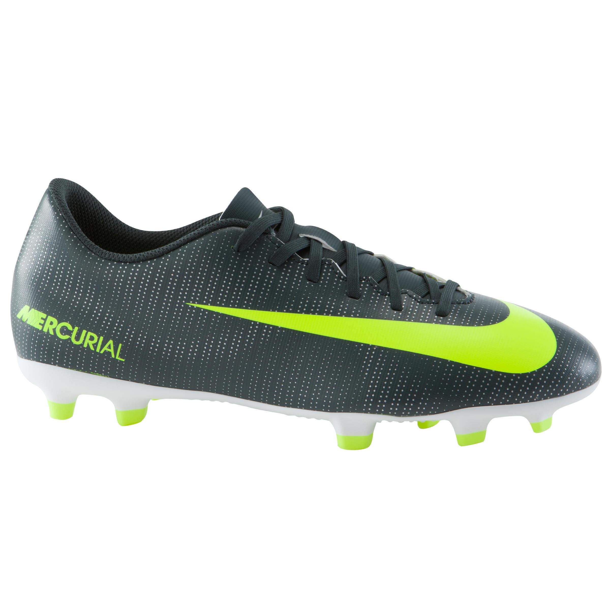 Nike Voetbalschoenen Mercurial CR7 Vortex FG voor volwassenen zwart