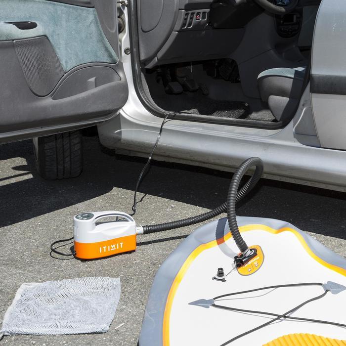 Elektrische pomp 0-15 psi 12V en 15A voor opblaasbare supboards en kajaks