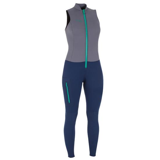 Dames+wetsuit+500+voor+kajak+stand+up+paddling+neopreen+2+mm+grijs+blauw+1061312.jpg?f=550x550