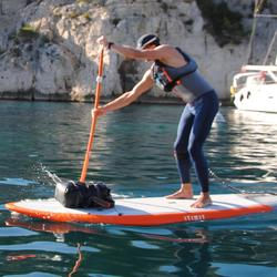 TRAJE SIN MANGAS KAYAK STAND UP PADDLE 500 NEOPRENO 2 MM HOMBRE GRIS AZUL