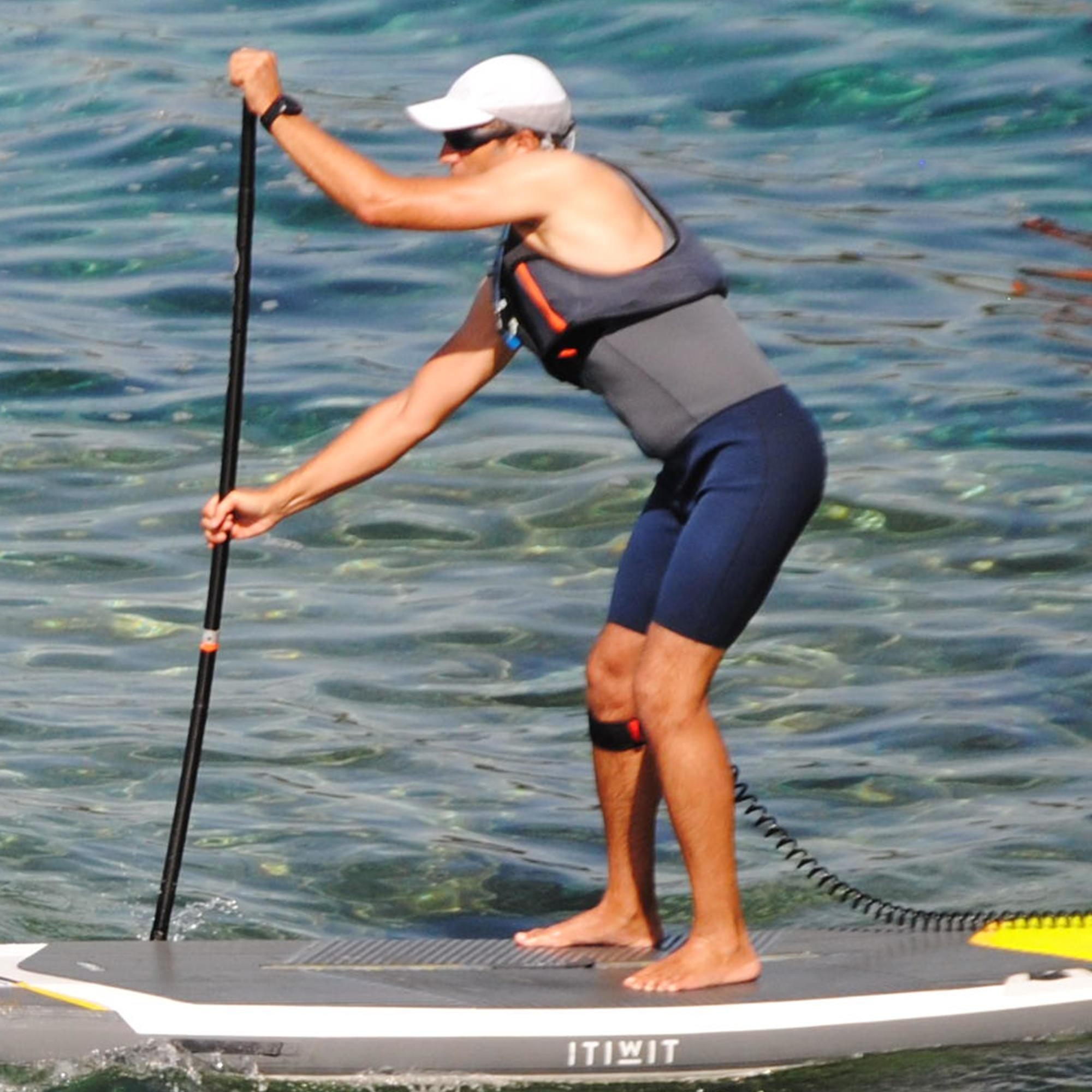Shorty sin mangas kayak stand up paddle neopreno hombre gris azul jpg  700x700 Neopreno paddle 25c2342a83e