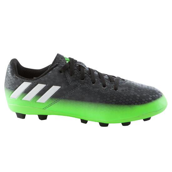 Voetbalschoenen Messi 16.4 FG voor kinderen zilver/groen - 1061593