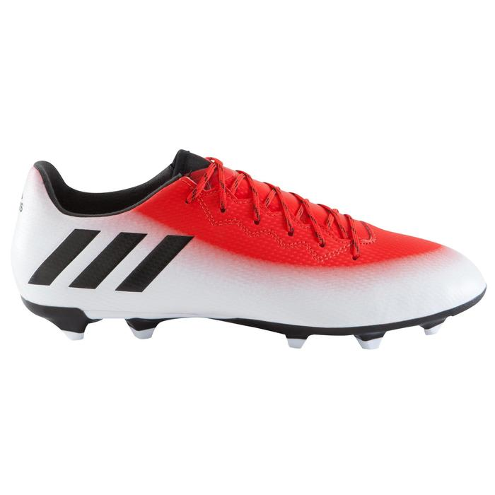 Chaussure football adulte Messi 16.3 FG rouge blanc - 1061628