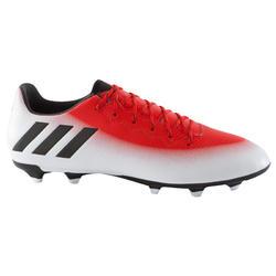 Voetbalschoenen Messi 16.3 FG voor volwassenen rood/wit