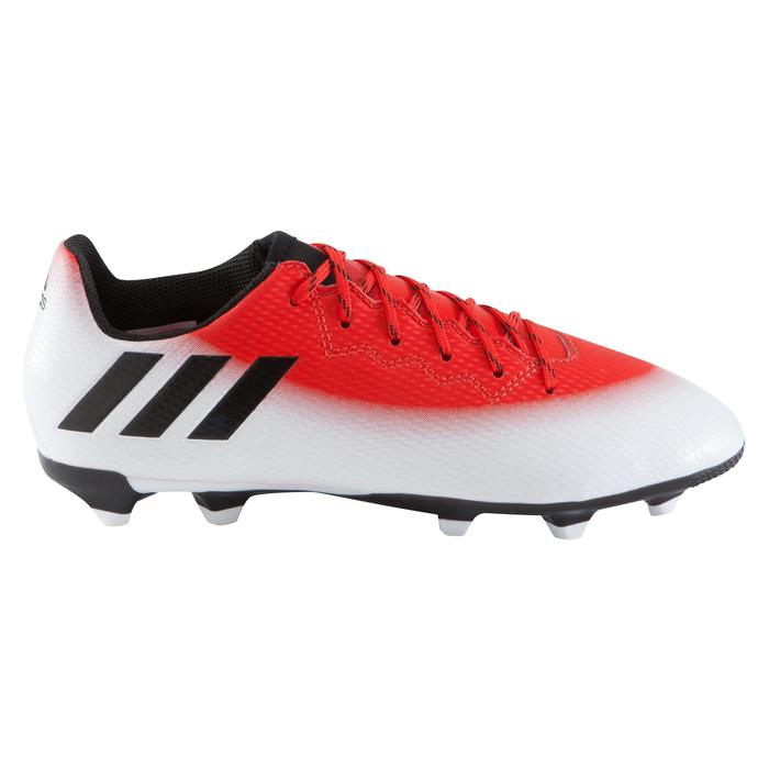 Chaussure football enfant Messi 16.3 FG rouge blanc noir - 1061650