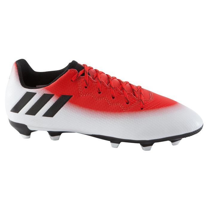 Chaussure football enfant Messi 16.3 FG rouge blanc noir - 1061653