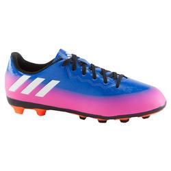 Voetbalschoenen Messi 16.4 FG voor kinderen blauw/roze
