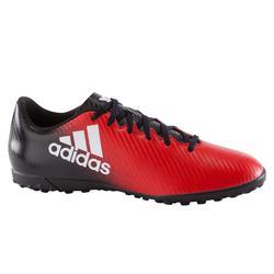 Botas fútbol adulto X 16.4 TG rojo negro