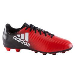 Voetbalschoenen X 16.4 FG voor kinderen rood/zwart