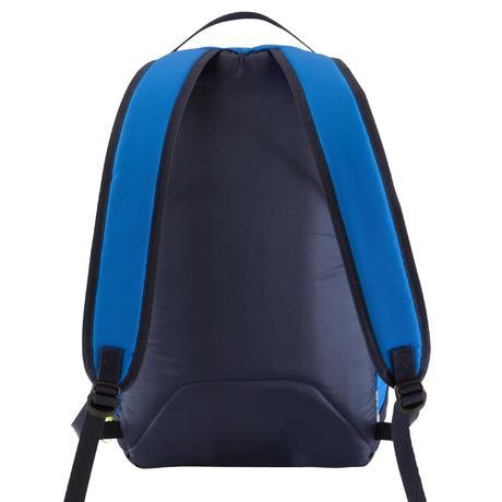 sac dos de sports collectifs intensif 20 litres bleu jaune kipsta by decathlon. Black Bedroom Furniture Sets. Home Design Ideas