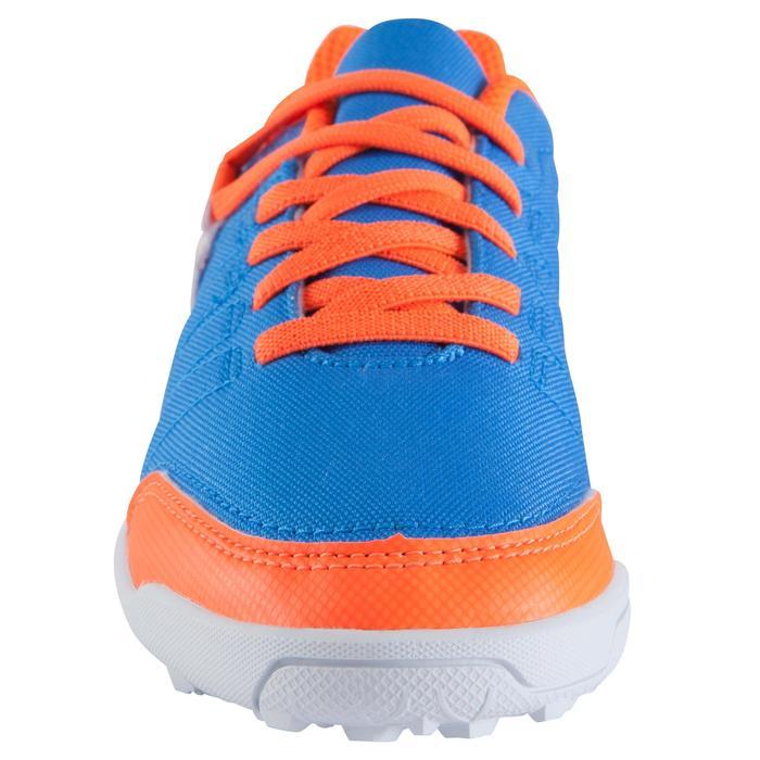 Fußballschuhe CLR 500 HG Multinocken Kinder blau/orange