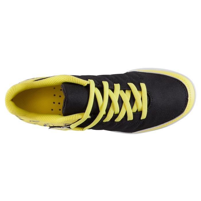 Chaussure de futsal enfant CLR 500 à scratch bleue - 1062002