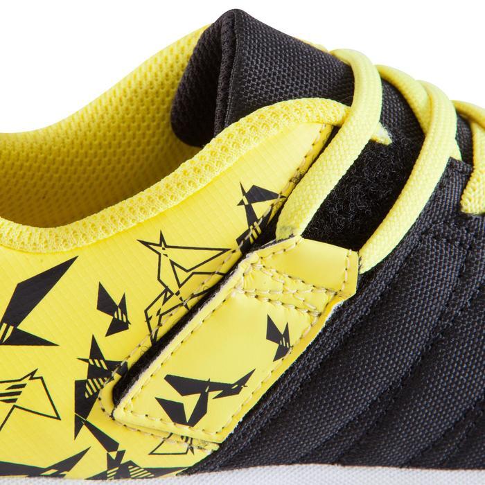 Chaussure de futsal enfant CLR 500 à scratch bleue - 1062005
