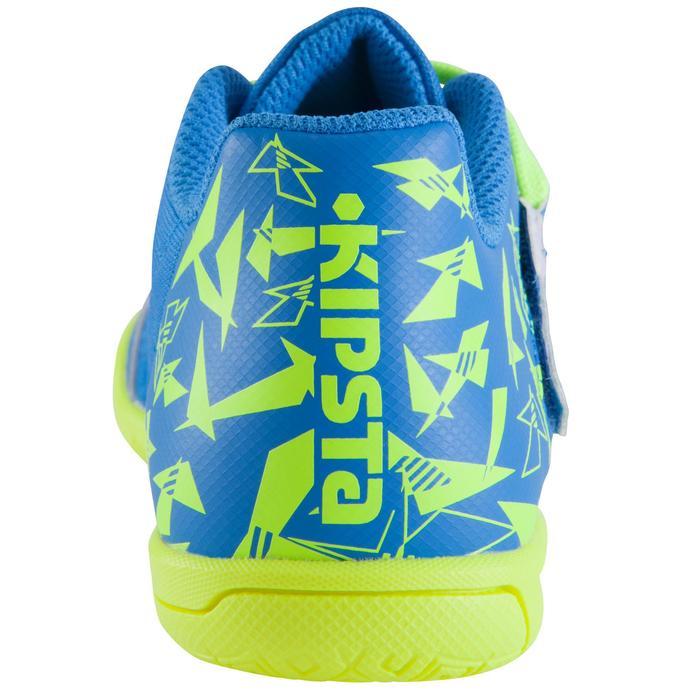 Chaussure de futsal enfant CLR 500 à scratch bleue - 1062018