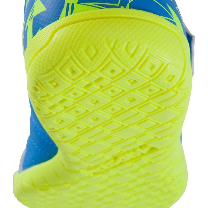 Chaussure de futsal enfant CLR 500 à scratch bleue - 1062019