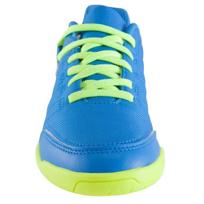 Chaussure de futsal enfant CLR 500 à scratch bleue - 1062022