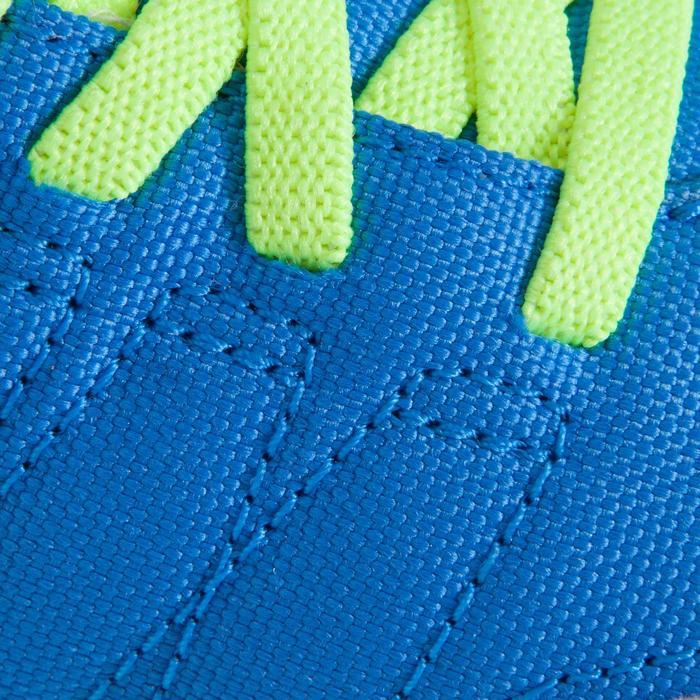 Chaussure de futsal enfant CLR 500 à scratch bleue - 1062023