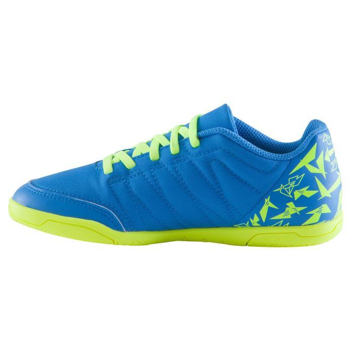 Chaussure de futsal enfant CLR 500 à scratch bleue - 1062024