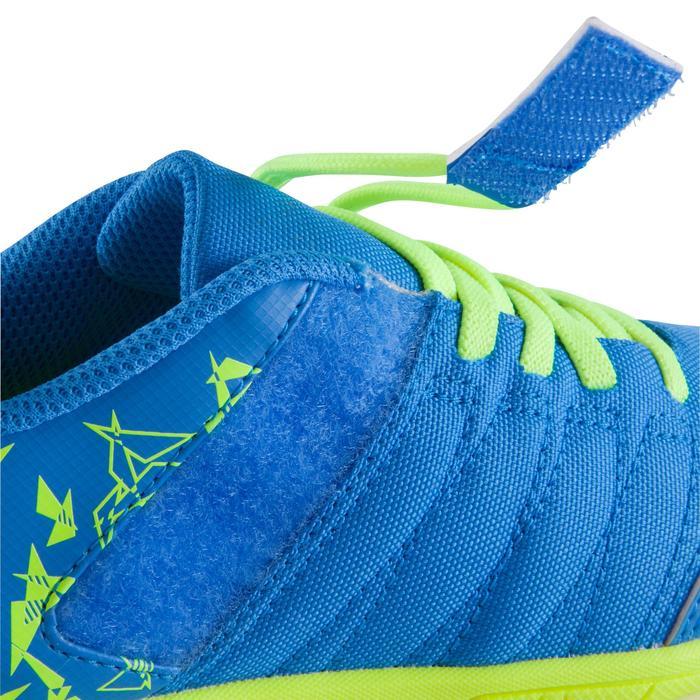 Chaussure de futsal enfant CLR 500 à scratch bleue - 1062026