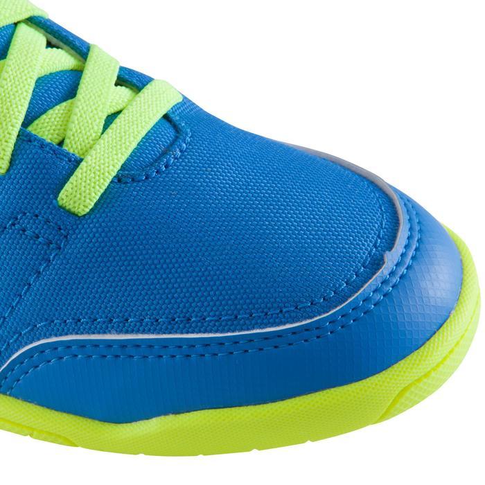 Chaussure de futsal enfant CLR 500 à scratch bleue - 1062028