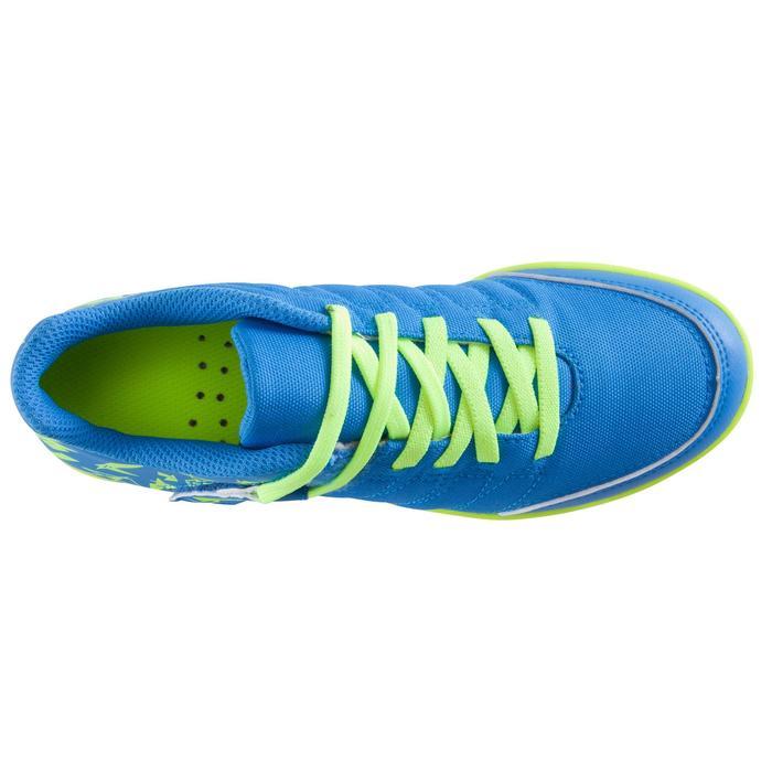 Chaussure de futsal enfant CLR 500 à scratch bleue - 1062029